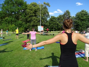 Pilates im Ostpark