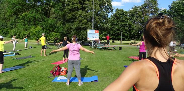 Tag 1 – Pilates im Ostpark