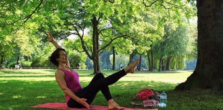 Tag 5 – Yoga im Englischen Garten